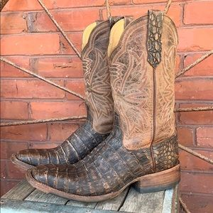 CINCH Caiman Crocodile Mad Dog Cowboy Boots